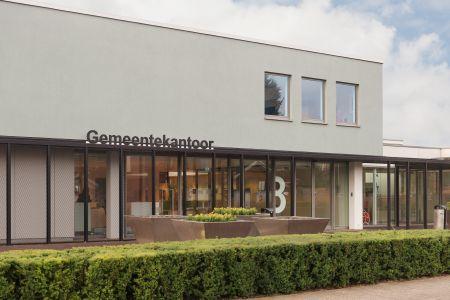 verbouwde Gemeentekantoor Aalten, voormalig Rabobank gebouw